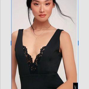 7326e258866 Lulu s Dresses - BIG CITY DREAMS BLACK LACE BODYCON DRESS